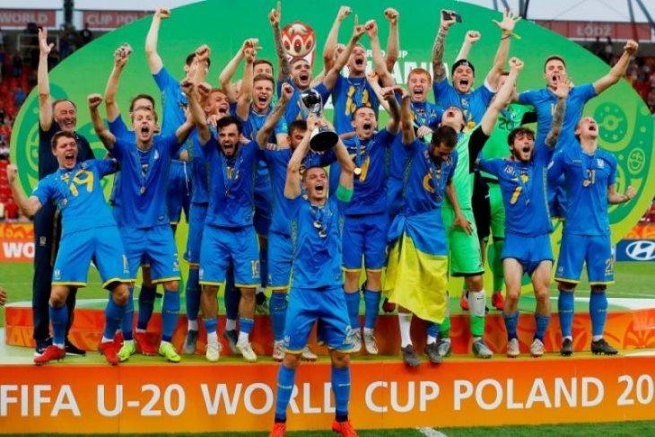 Ukraina juarai Piala Dunia U20 usai tundukkan Korsel 3-1