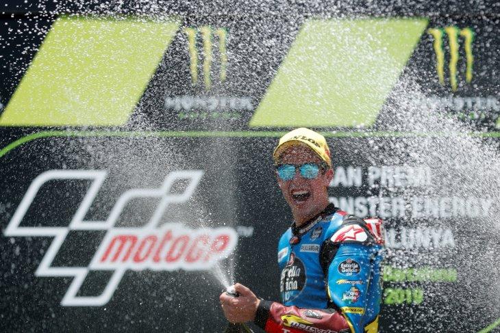 Alex Marquez juara di Catalunya, Dimas finis P21
