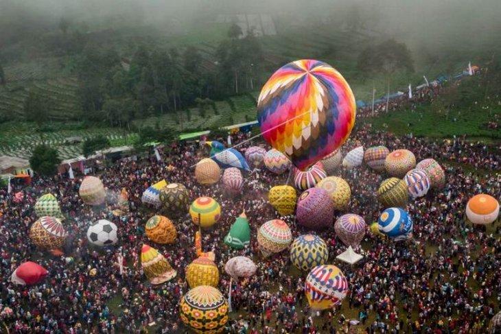 Festival balon tradisional
