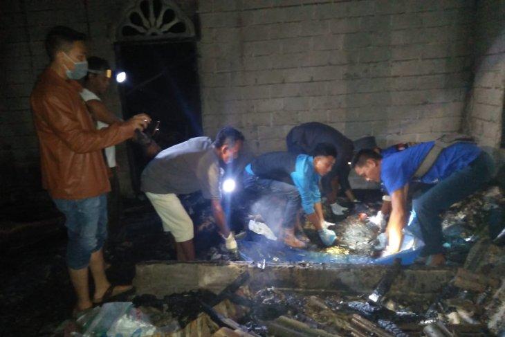 Kebakaran di Brandan Barat, satu korban meninggal