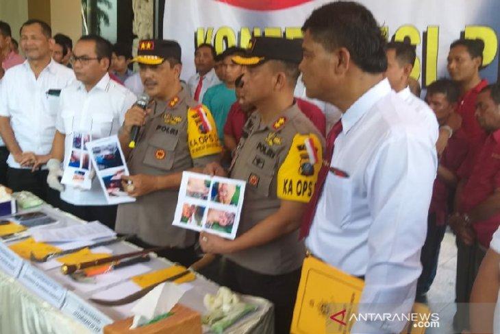 Polisi tangkap 7 pelaku percobaan pembunuhan sekeluarga di Dairi