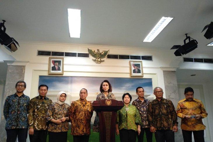 Presiden Jokowi minta pansel cari komisioner KPK berkemampuan manajerial kuat