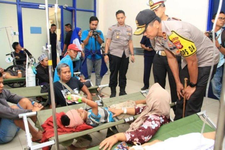 Kakorlantas: Kecelakaan bus di Cipali terjadi saat sopir gunakan ponsel