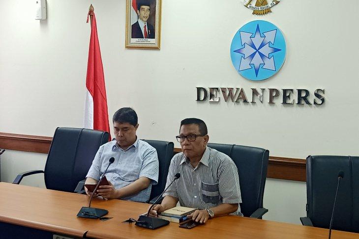 Dewan Pers nyatakan  pemberitaan Tim Mawar Tempo produk jurnalistik investigasi
