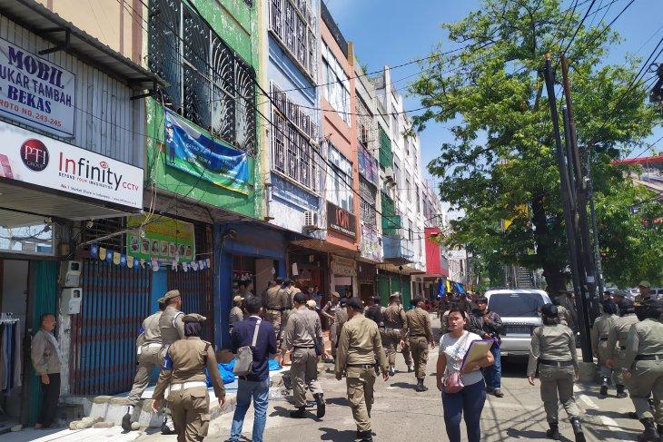 Pemkot Medan tertibkan sejumlah pasar