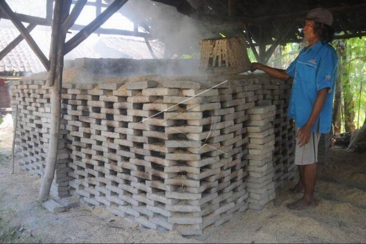 Produksi batu bata