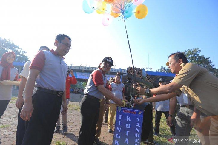 533 murid SD mengikuti O2SN tingkat Kota Tangerang