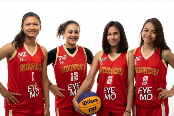 Tim basket 3x3 putri menjalani laga uji coba di Jepang sebelum SEA Games