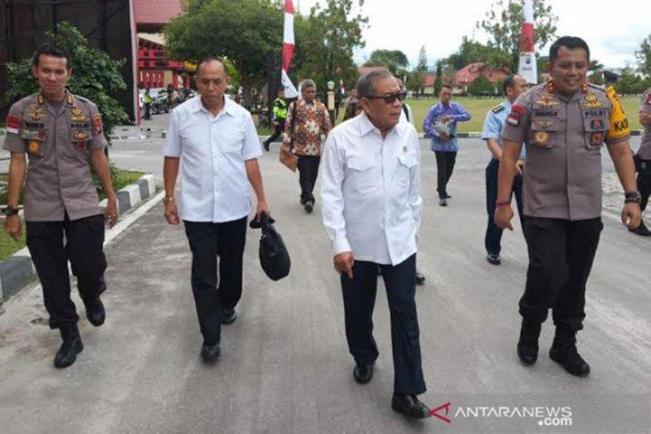 Watimpres datangi Polda Kalteng tindaklanjuti pemindahan ibu kota