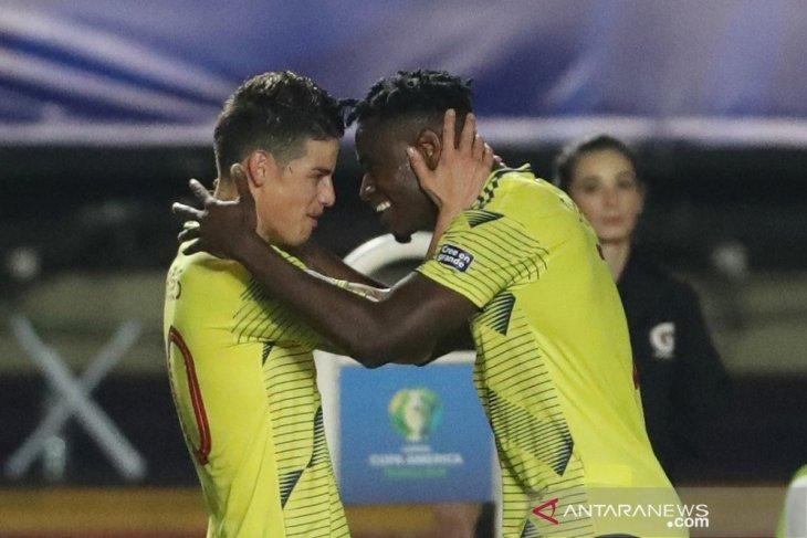 Kalahkan Qatar, Kolombia tim pertama ke perempat final Copa America