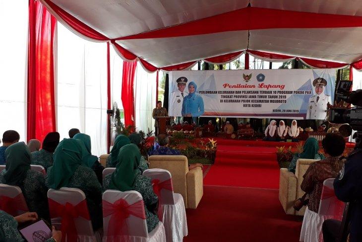 Prodamas Kota Kediri berdampak positif bagi perkembangan kelurahan