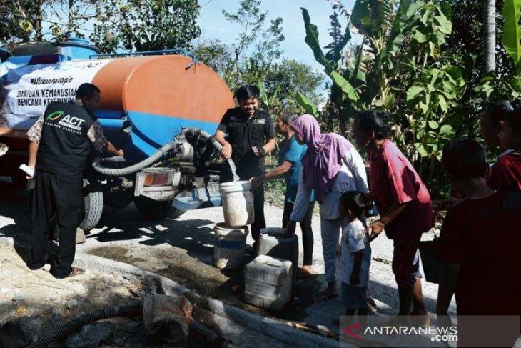 ACT Siapkan Jutaan Liter Air Bersih Tanggulangi Kekeringan Gunungkidul