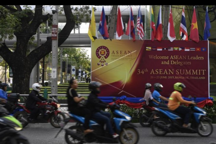 Persiapan KTT Asean di Bangkok