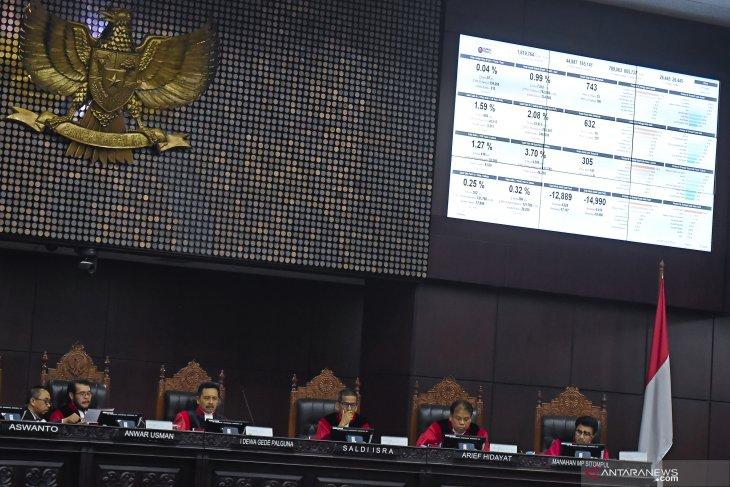 Sidang MK, Hakim uji keabsahan Situng