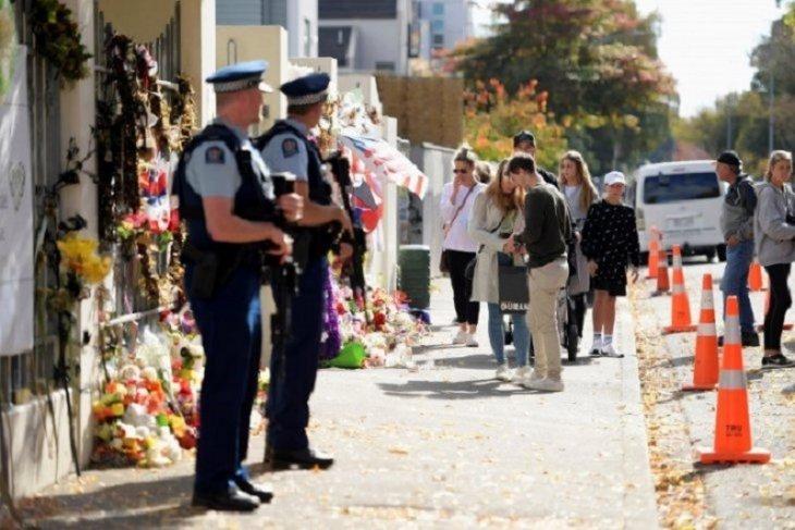 Polisi Selandia Baru tahan dua orang atas ancaman terhadap masjid di Christchurch