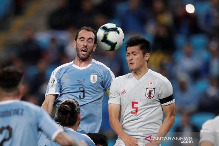 Jepang berhasil tahan imbang Uruguay 2-2