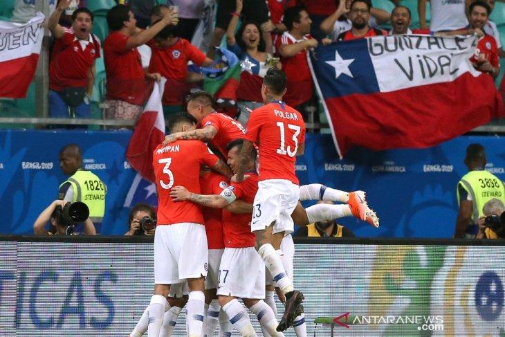 Chile susul Kolombia ke perempat final Copa America