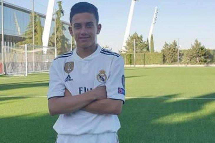 Putra mendiang Antonio Reyes gabung Real Madrid