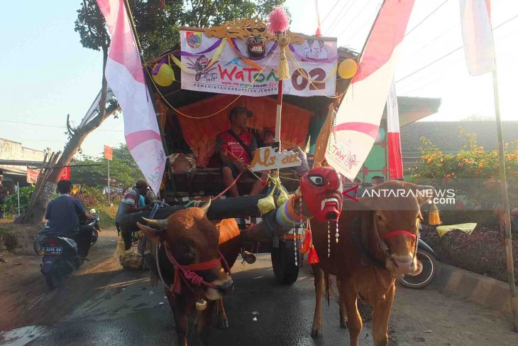 Watu Ulo Pegon Parade diharapkan dongkrak pariwisata Jember