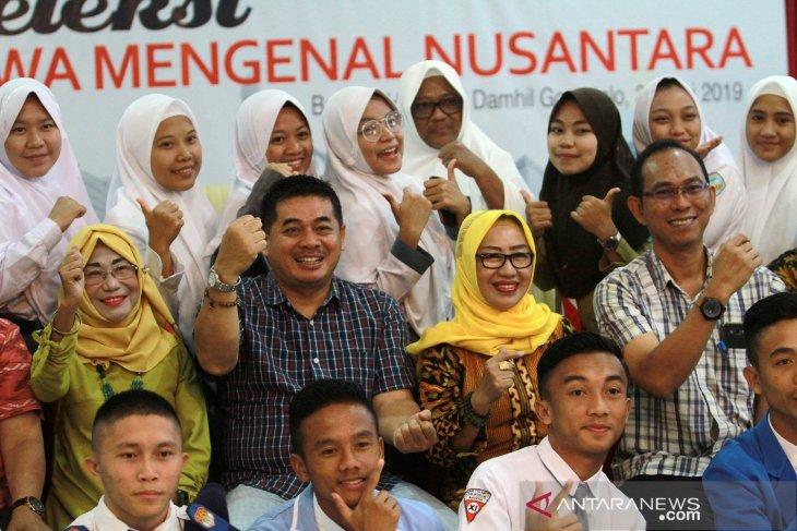 Calon peserta SMA/SMK jalani seleksi Siswa Mengenal Nusantara di Gorontalo
