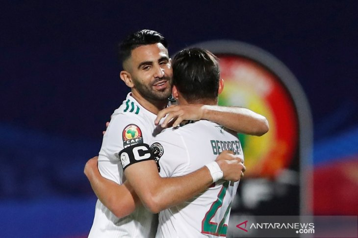 Aljazair raih kemenangan 2-0 kontra Kenya