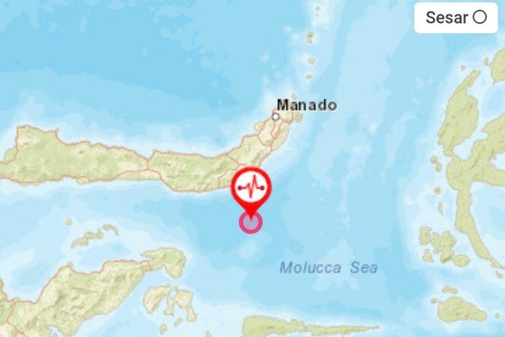 Gempa Bolaang Mongondow terasa hingga barat Gorontalo Utara