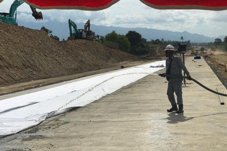Seksi 4 pembangunan jalan tol Banda Aceh-Sigli terus  dikebut