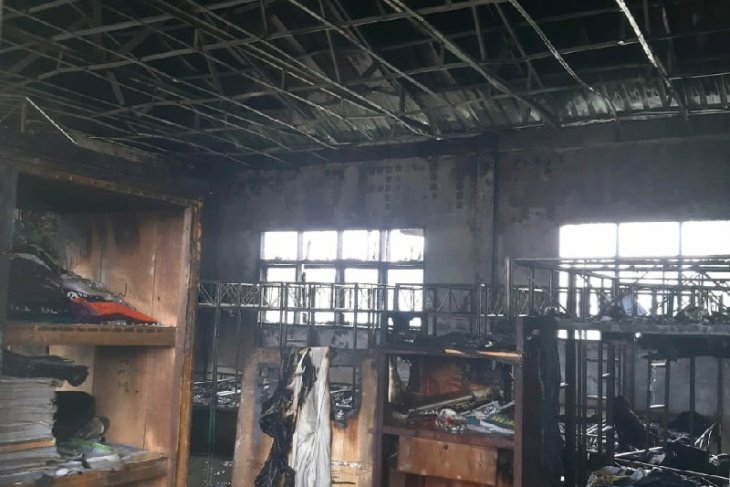 Pesantren Islamic Center Deli Serdang terbakar