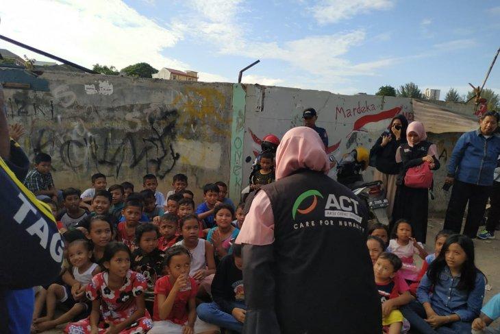 ACT pulihkan trauma anak korban kebakaran  Batam
