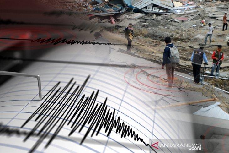 Gempa susulan guncang Ambon sebanyak 725 kali