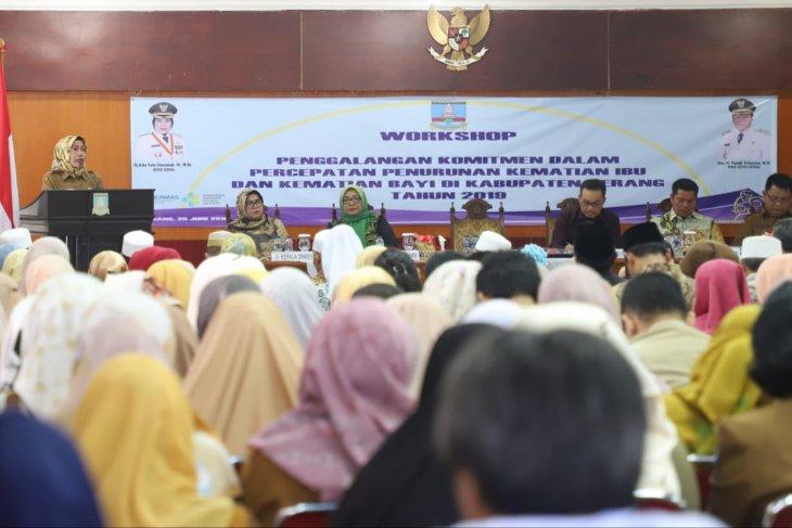 Workshop penggalangan dan penurunan AKI dan AKB di Serang