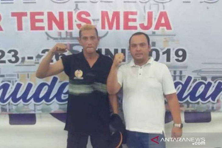 Medali emas perdana Labuhanbatu Selatan di Porprovsu dari Tenis Meja