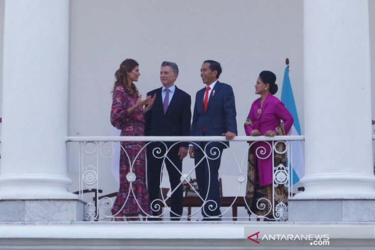 Jokowi receives Argentinean President, First Lady