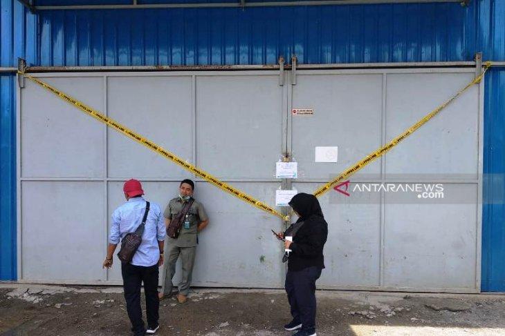BBPOM segel pabrik air minum kemasan di Nagan Raya Aceh