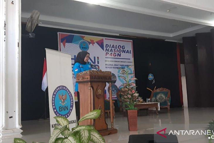 Sembilan pelajar di Kabupaten Bangka tercatat lakukan penyalahgunaan narkotika