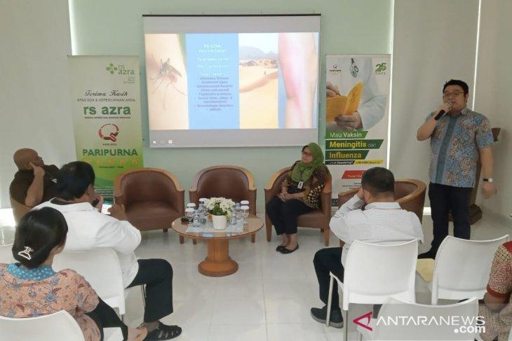 Rumah Sakit Azra jadi pusat vaksin meningitis untuk calon jamaah haji dan umroh di Bogor