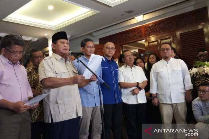 Prabowo-Sandi hormati keputusan MK