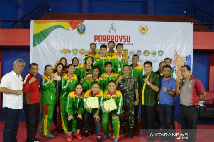 Kota Medan juara umum bulutangkis Porprov Sumut