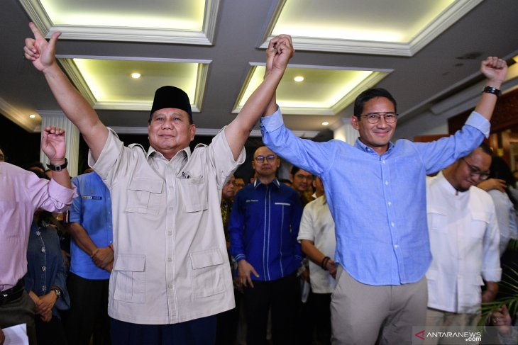 Prabowo to continue struggle for Indonesian prosperity