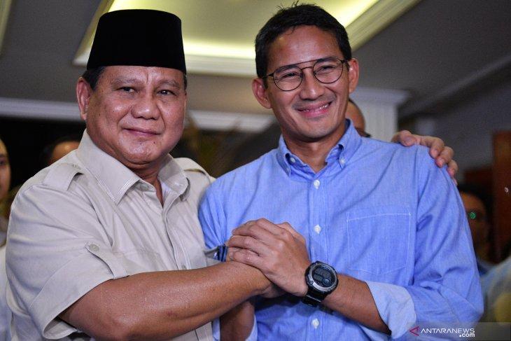 Prabowo Subianto ajak pendukungnya berjuang di jalur legislatif