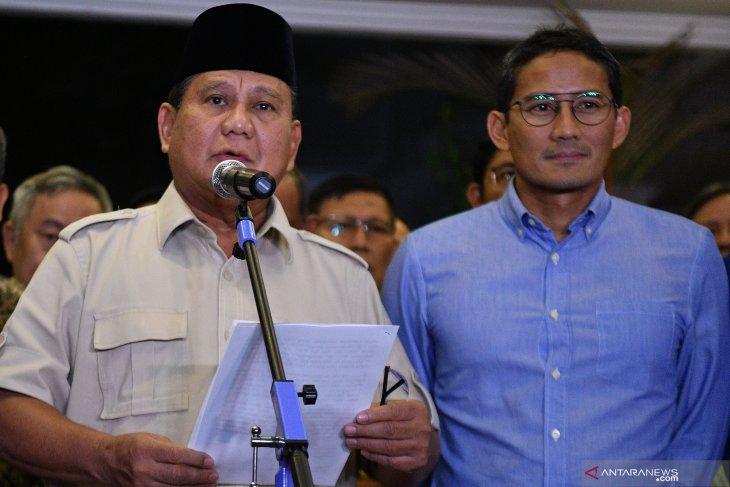 Prabowo: Kami hormati putusan Mahkamah Konstitusi
