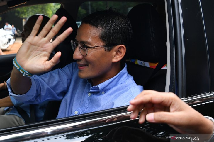Pilpres usai, Sandiaga nyatakan rehat dari dunia politik