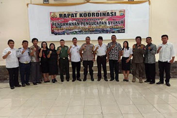 Polres Minahasa Selatan gelar Rakor Kesiapan Pengamanan Pengucapan Syukur