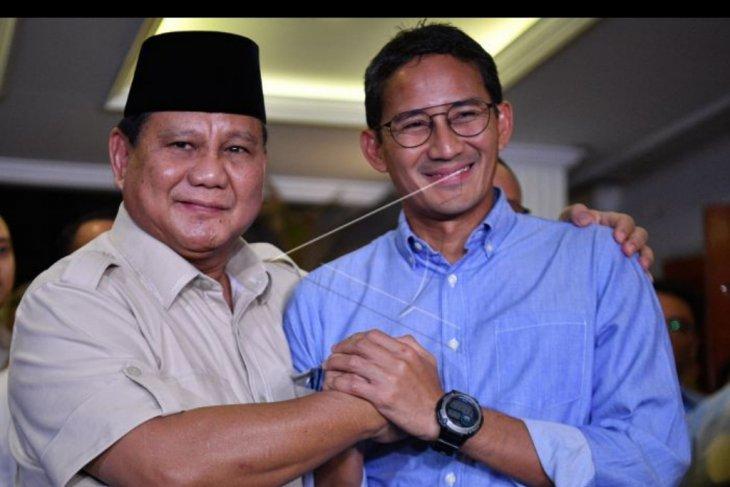 Prabowo - Sandi terima putusan MK