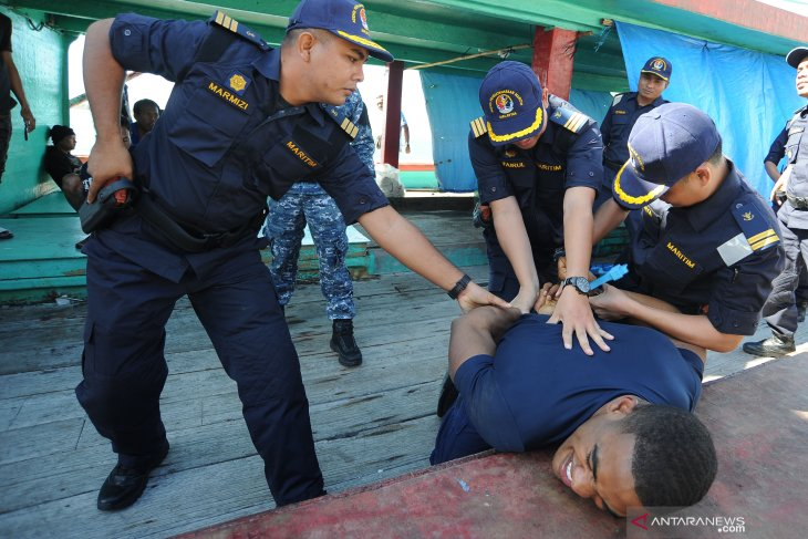 Perairan Indonesia masih menjadi wilayah darurat narkoba