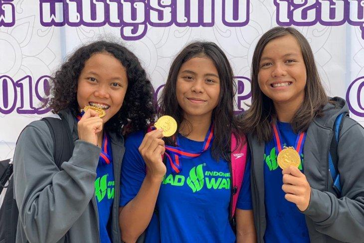 Indonesia sabet empat emas kejuaraan renang di Kamboja