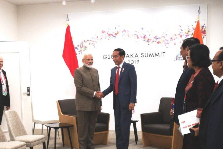 Indonesia, India discuss economic, maritime issues