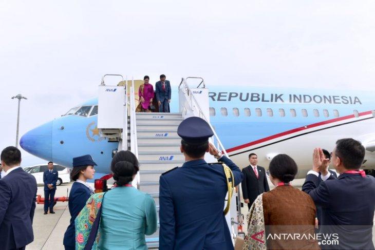 Akhiri kunjungan di Jepang, Presiden Jokowi balik ke tanah air