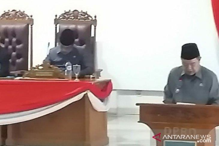 Pemkab Bangka Selatan sampaikan Raperda LPJ APBD 2018
