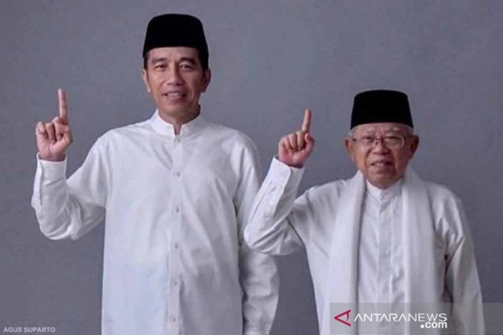 Jokowi calls on Indonesians to forget political differences